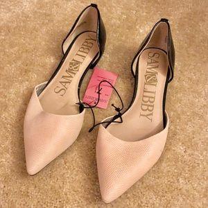 2c8603e011d4 Sam   Libby Shoes - NWT Sam   Libby Flats 7.5 Fawn Black Cream Target